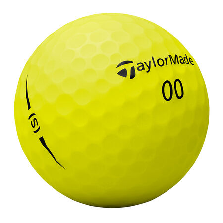 Project (s) Matte Yellow Golf Balls