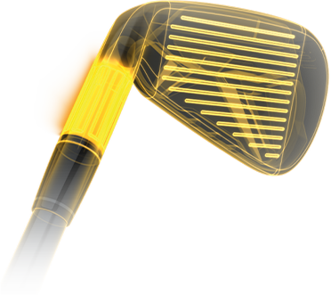 M2 Iron thick-thin fluted hosel