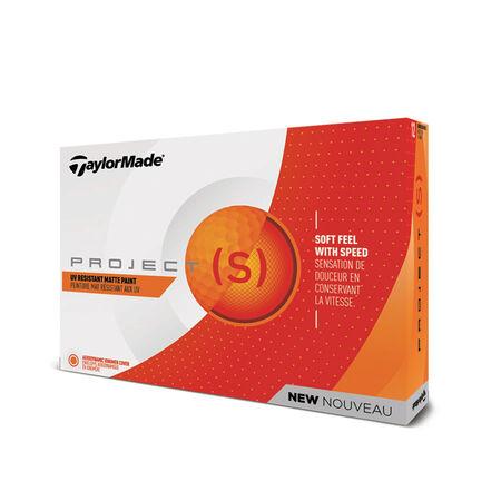 Balles Project (s) Matte Orange Golf Balls