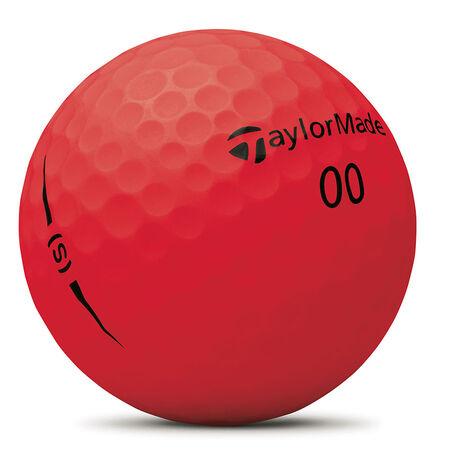 Project (s) Matte Red Golf Balls