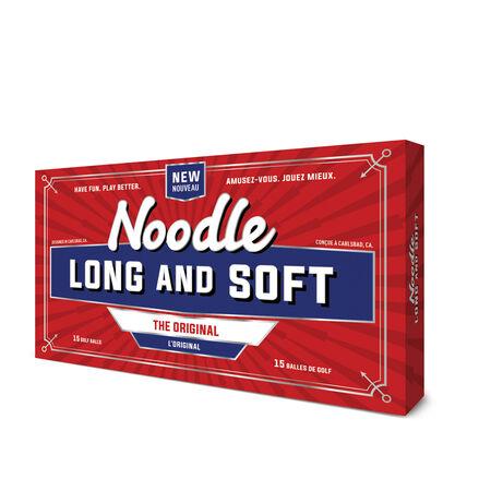 Balles Noodle Long & Soft Golf Balls (boîte de 15 balles)