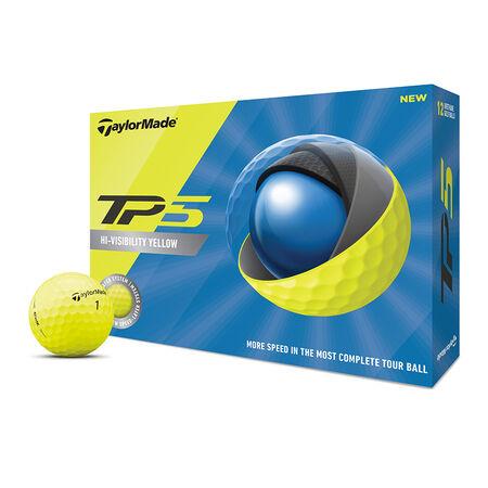 Balles de golf jaunes TP5