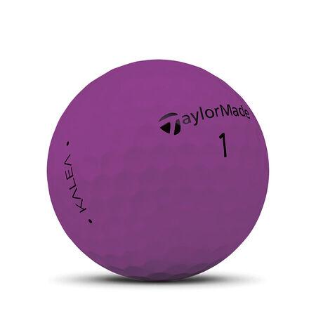 Balles de golf mauve mat Kalea