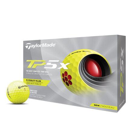 Balles de golf jaunes TP5x
