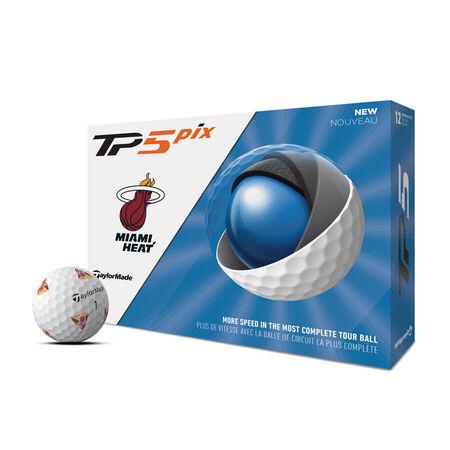Balles de golf TP5 Pix Miami Heat