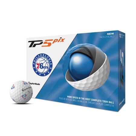 Balles de golf TP5 Pix Philadelphia 76ers