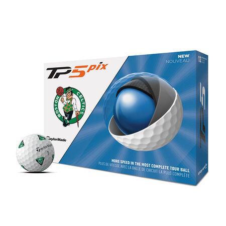 Balles de golf TP5 Pix Boston Celtics