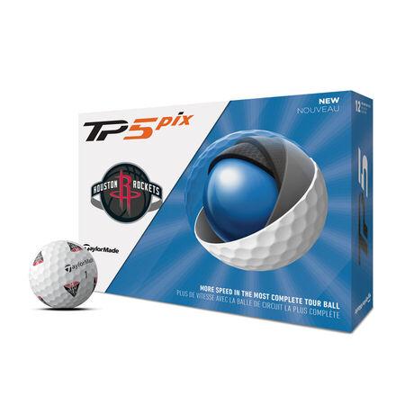 Ballons de golf TP5 Pix Houston Rockets