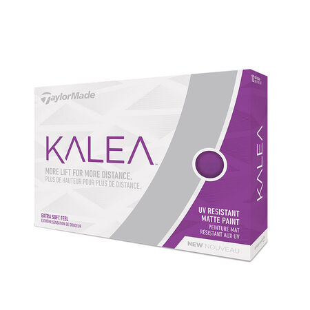 Kalea Matte Purple Golf Balls