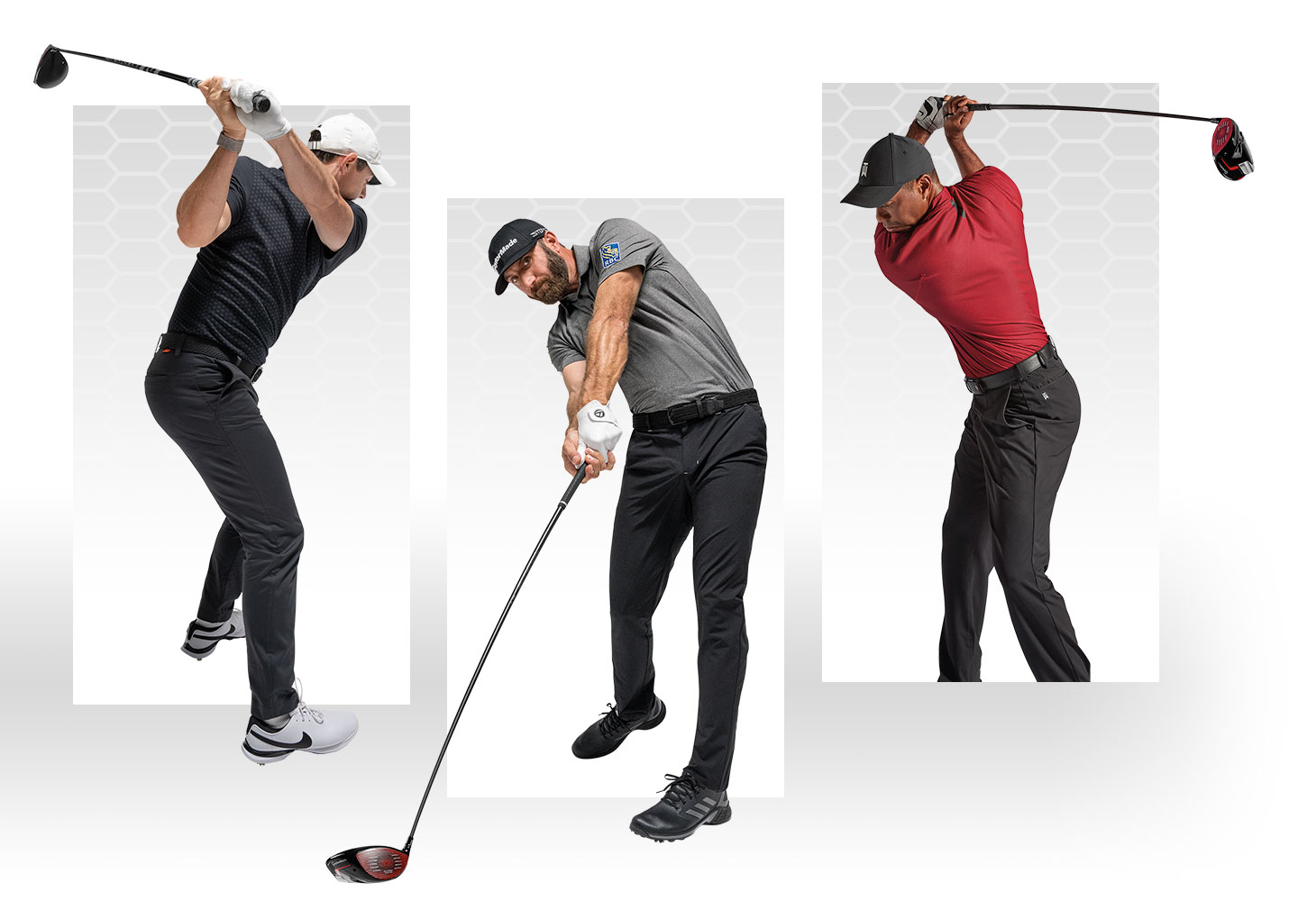 Rory McIlroy, Jason Day, Matthew Wolff