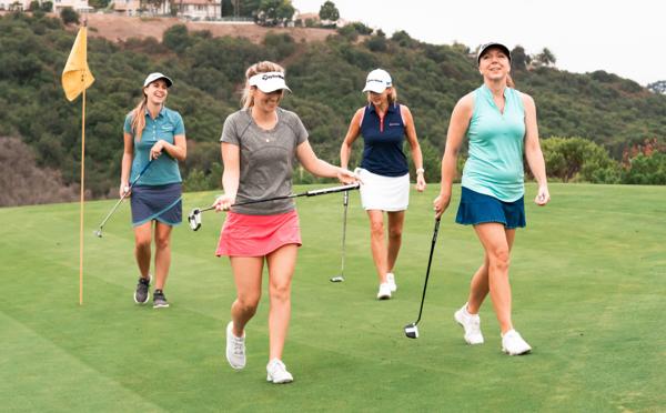 Page Équipe TaylorMade pour femmes