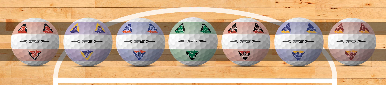 Balles de golf TP5 Pix NBA